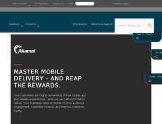 mobitest.akamai.com screenshot