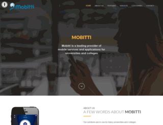 mobitti.net screenshot