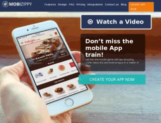 mobizippy.com screenshot