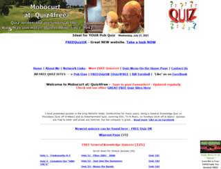 mobocurt.quiz4free.com screenshot