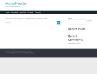 mobofree.in screenshot