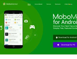 mobomarket.moborobo.com screenshot