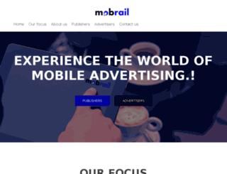 mobrail.com screenshot