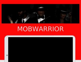 mobwarrior.com screenshot