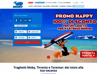 moby.it screenshot