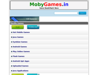 mobygames.in screenshot