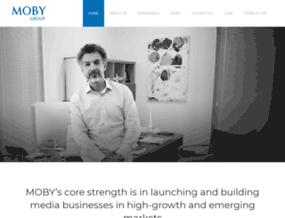mobygroup.com screenshot