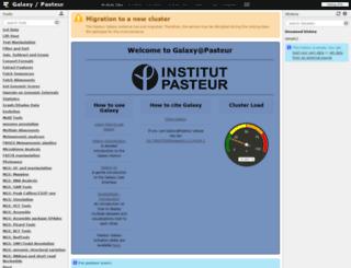 mobyle.pasteur.fr screenshot