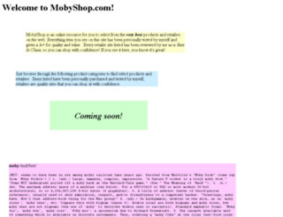 mobyshop.com screenshot