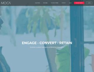 mocaplatform.com screenshot
