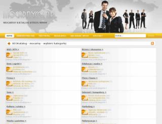 mocarny.com.pl screenshot