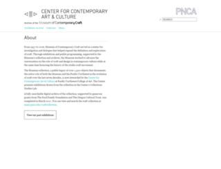mocc.pnca.edu screenshot