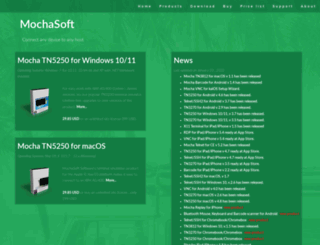 mochasoft.dk screenshot