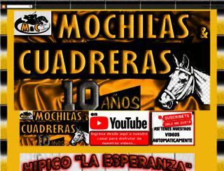 mochilasycuadreras.blogspot.com.ar screenshot