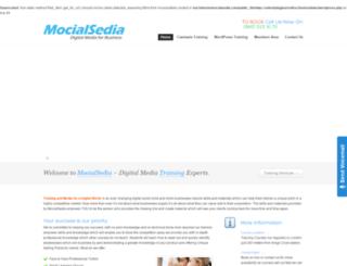 mocialsedia.com screenshot