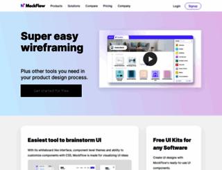 mockflow.com screenshot