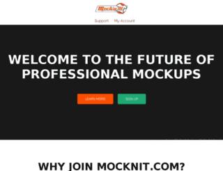 mocknit.com screenshot