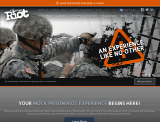 mockprisonriot.org screenshot