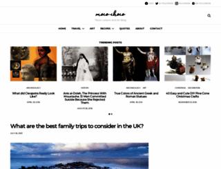 moco-choco.com screenshot