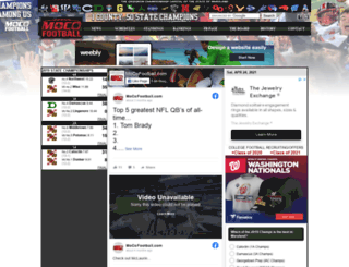 mocofootball.com screenshot