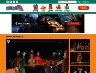 mocomi.com screenshot