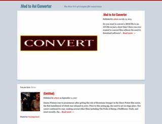 mod-converter.org screenshot