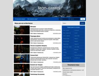 mod-games.ru screenshot