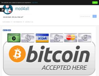 mod4all.com screenshot