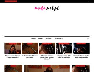 moda.net.pl screenshot