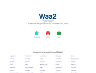 moda.waa2.com screenshot