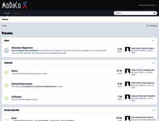 modaco.com screenshot