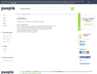 modaetendenze.splinder.com screenshot