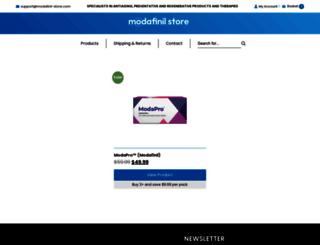 modafinil-store.com screenshot