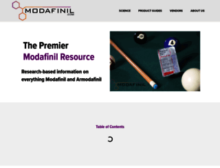 modafinil.com screenshot