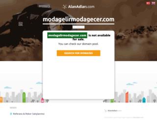modagelirmodagecer.com screenshot