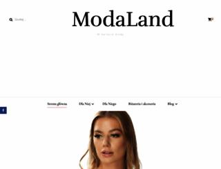 modaland.pl screenshot
