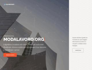 modalavoro.com screenshot