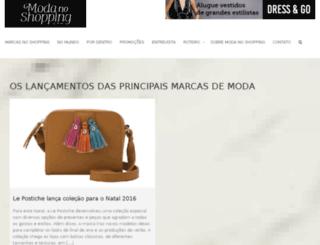modanoshopping.com.br screenshot