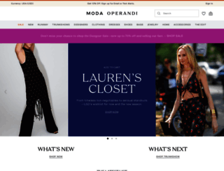 modaoperandi.com screenshot