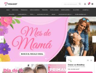 modashop.com.ar screenshot