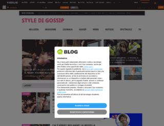 modastilebellezza.myblog.it screenshot