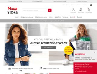 modavilona.it screenshot