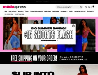 modaxpressonline.com screenshot