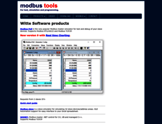 modbustools.com screenshot