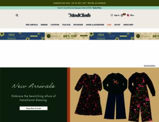 modcloth.com screenshot