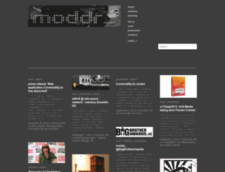 moddr.net screenshot