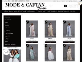 mode-et-caftan.com screenshot