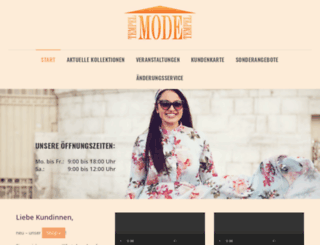 mode-tempel.de screenshot