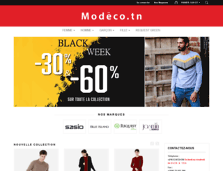 modeco.tn screenshot