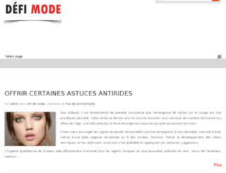 modedefi.com screenshot